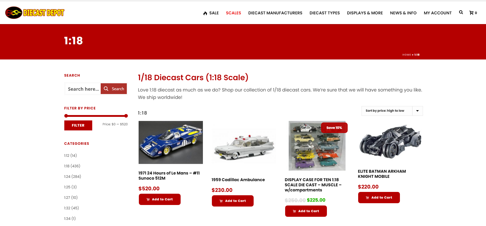 New Diecast Site