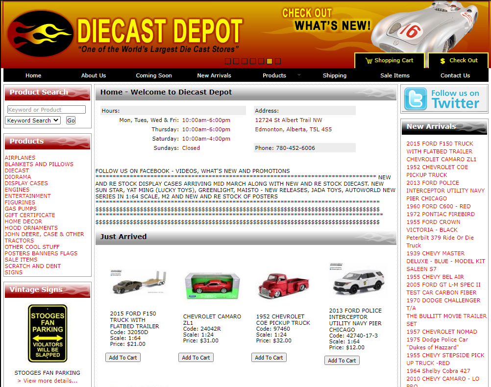 Old Diecast Site