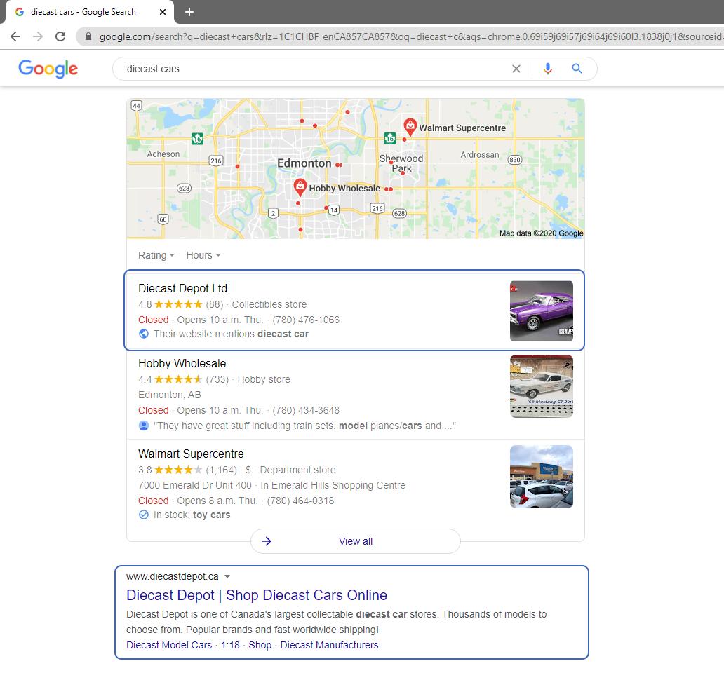 diecast car rankings