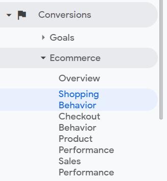 shopping behavior report location